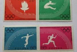 Марки спорт польша 1960 Олимпийские игры