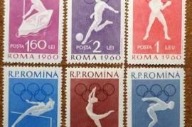 Марки спорт Румыния 1960 Олимпийские игры