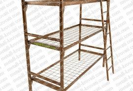 Кровати металлические по низким ценам оптом