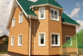 Фасадные панели Альта-Профиль Кирпич Рижский