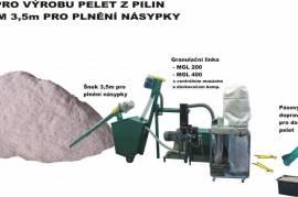 Линия гранулирования биомассы  MGL 100 / 200 / 400