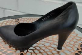 НОВЫЕ Черные кожаные туфли. Терволина