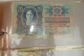 Старинные банкноты и облигации