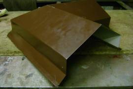 Декоративное покрытие кирпичных столбов