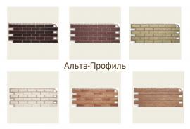 Фасадные панели Кирпич Альта-Профиль